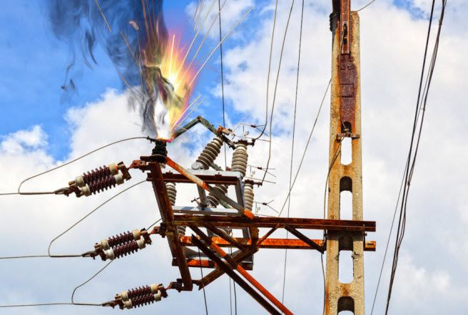 Types Of Faults In Electrical Power Systems Electricity Basic Electrical Wiring Electrical Projects