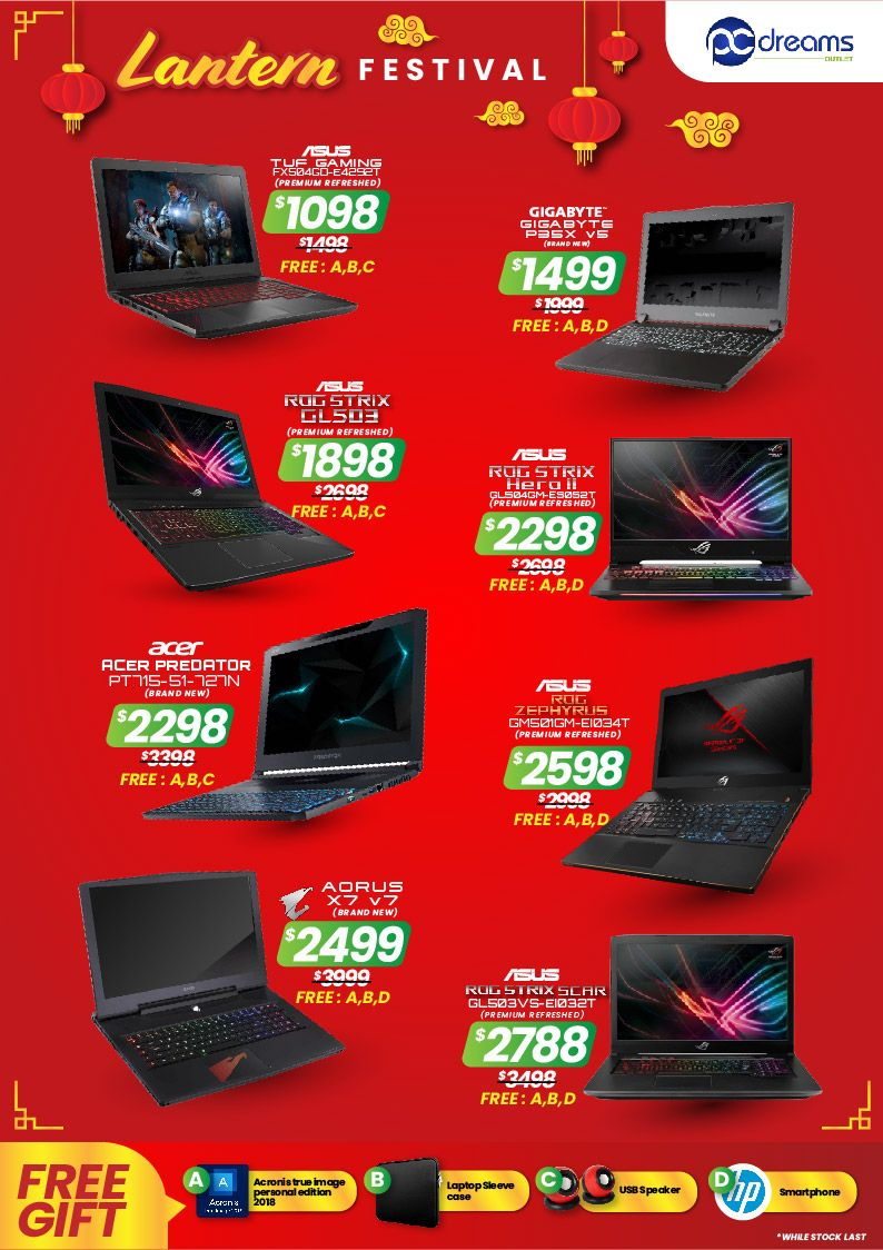 Cheapest the best refurbished laptop deals in Singapore