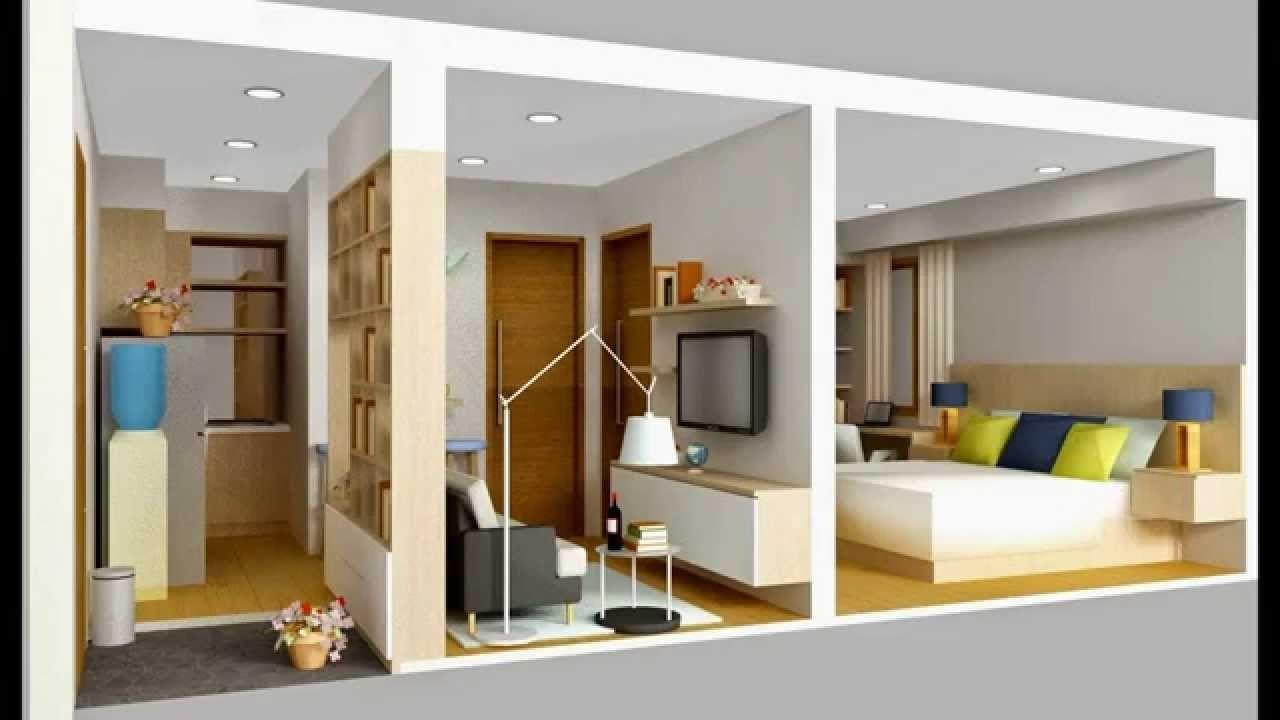 Desain Interior Rumah Kontrakan Petakan Cek Bahan Bangunan