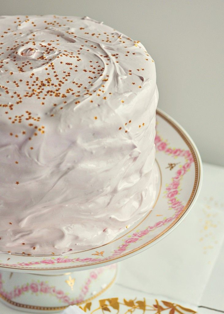 Old-Fashioned Party Cake