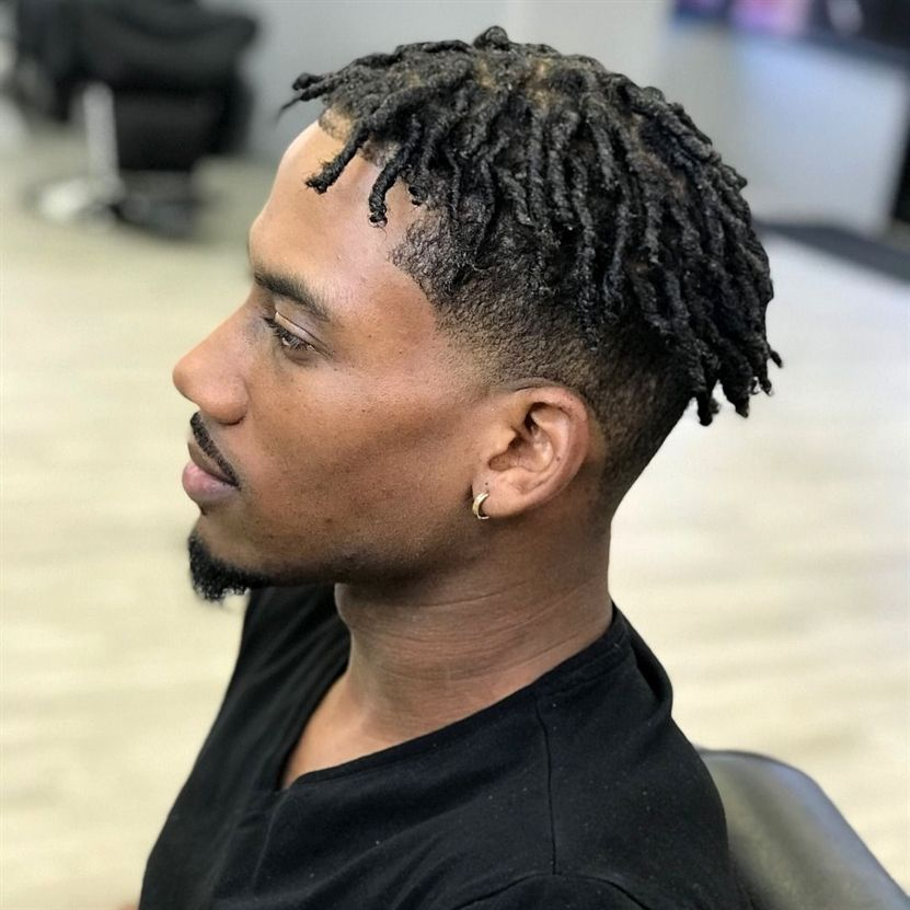 Jamaican Twists Men Hairstyles: Twisted & Chopped #BlackCurlyHairstyles