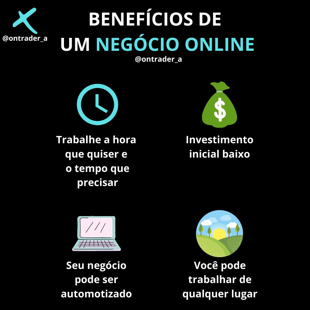 Benefícios de um negócio online