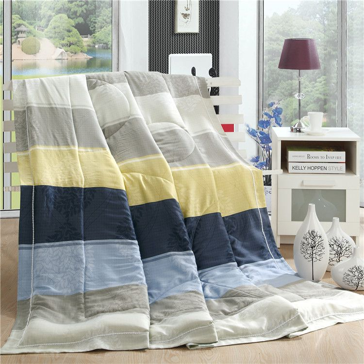 New Fashion Design 100% Tencel Quilt Bed Sheet Quilts Patchwork Air  Conditioning Quilt Summer Quilted