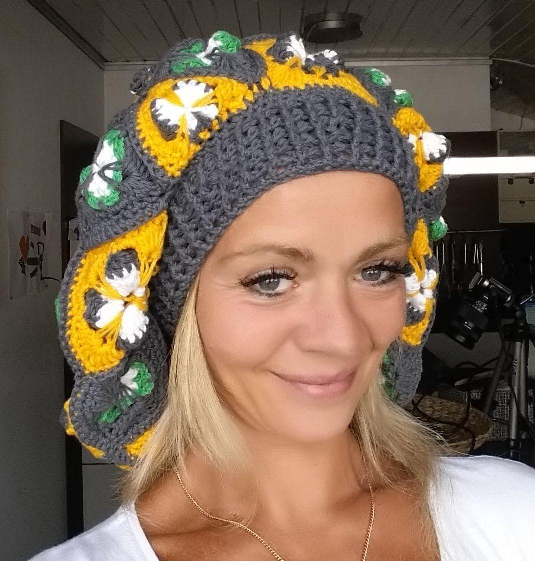 Crochet Ballon Mütze Sophie Teil 1# Häkeln mit Yve | videa ...