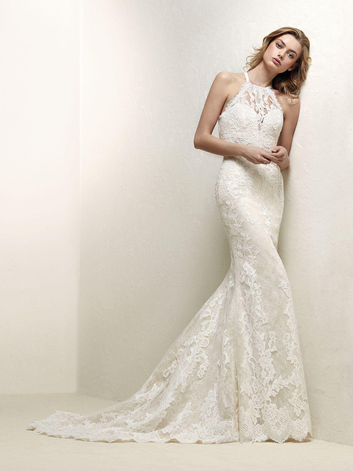 4e065d453 Vestido de Novia de Pronovias (DRABAT)