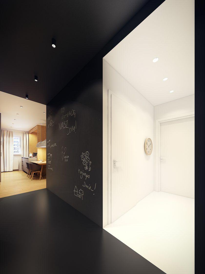 Moderne Zwei Zimmer Wohnung   Pinterest   Hall