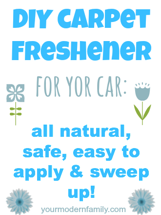 Tips to keep the car clean with kids - Your Modern Family