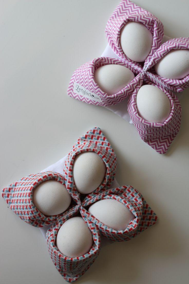 Best Nicht nur zu Ostern k nnt ihr die coolen Eierk rbchen n hen und somit entweder eure Eier beim