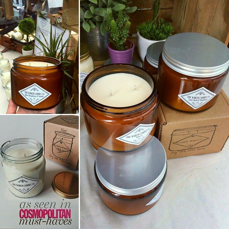 We have our Naked Candle Co 50 hr Burn Candles back in ...