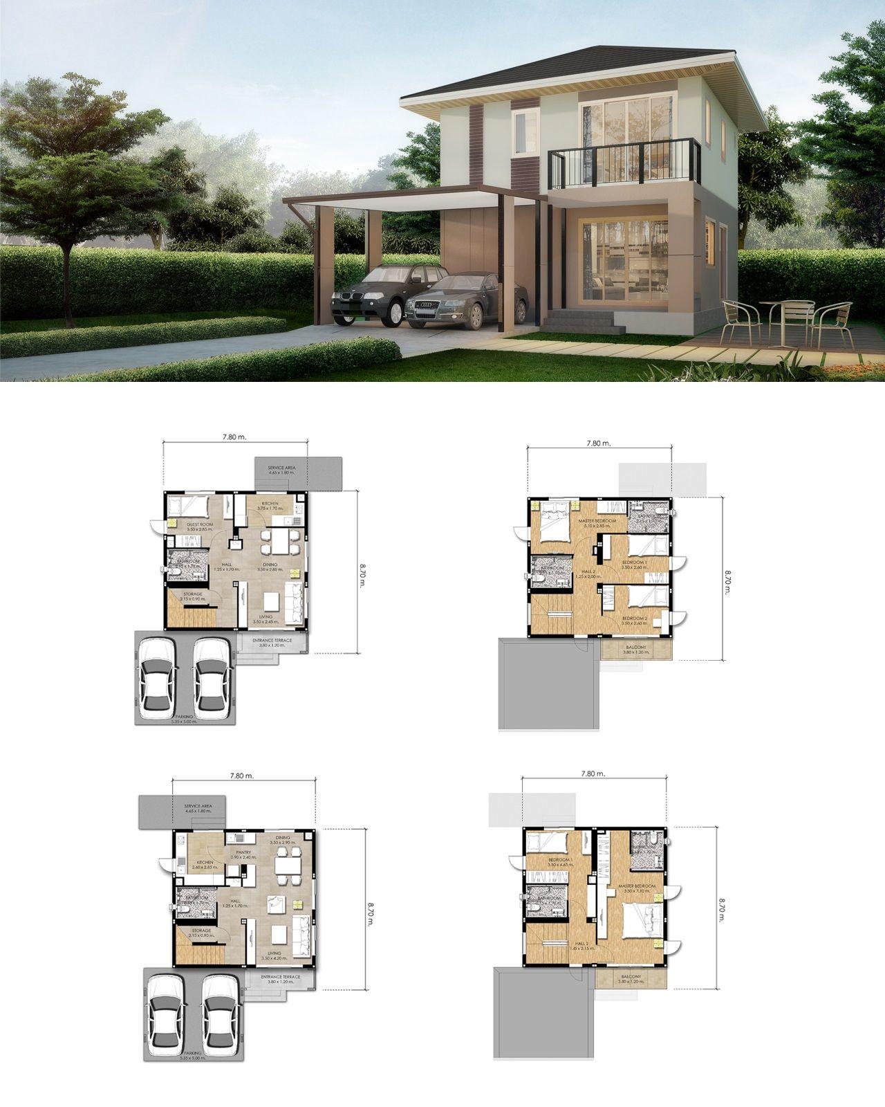 Scg Heim Arsitektur Denah Desain Rumah Denah Rumah