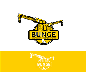Bunge Replacement Shiploader System Professional, Masculine Logo Design by Jaris designs
