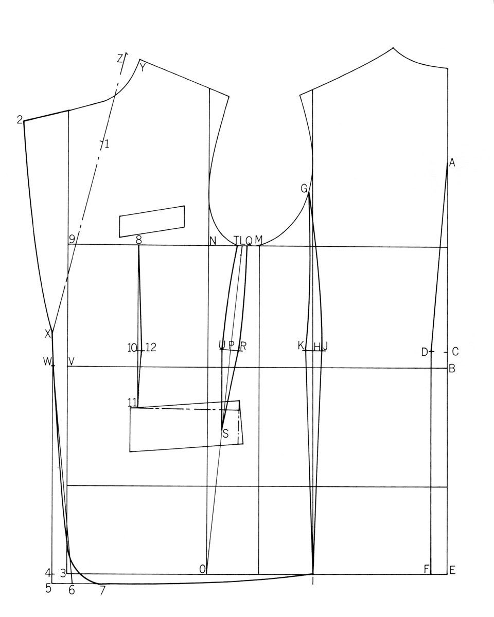 Pin By Jalal Tarmizdi On Homme Pattern Drafting Pattern