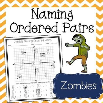 zombie naming ordered pairs worksheet rational numbers worksheets and students. Black Bedroom Furniture Sets. Home Design Ideas