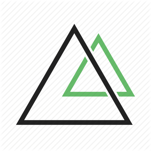 Angle Design Geometry Pattern Pyramid Right Triangle Icon Download On Iconfinder Icon Geometry Geometry Pattern