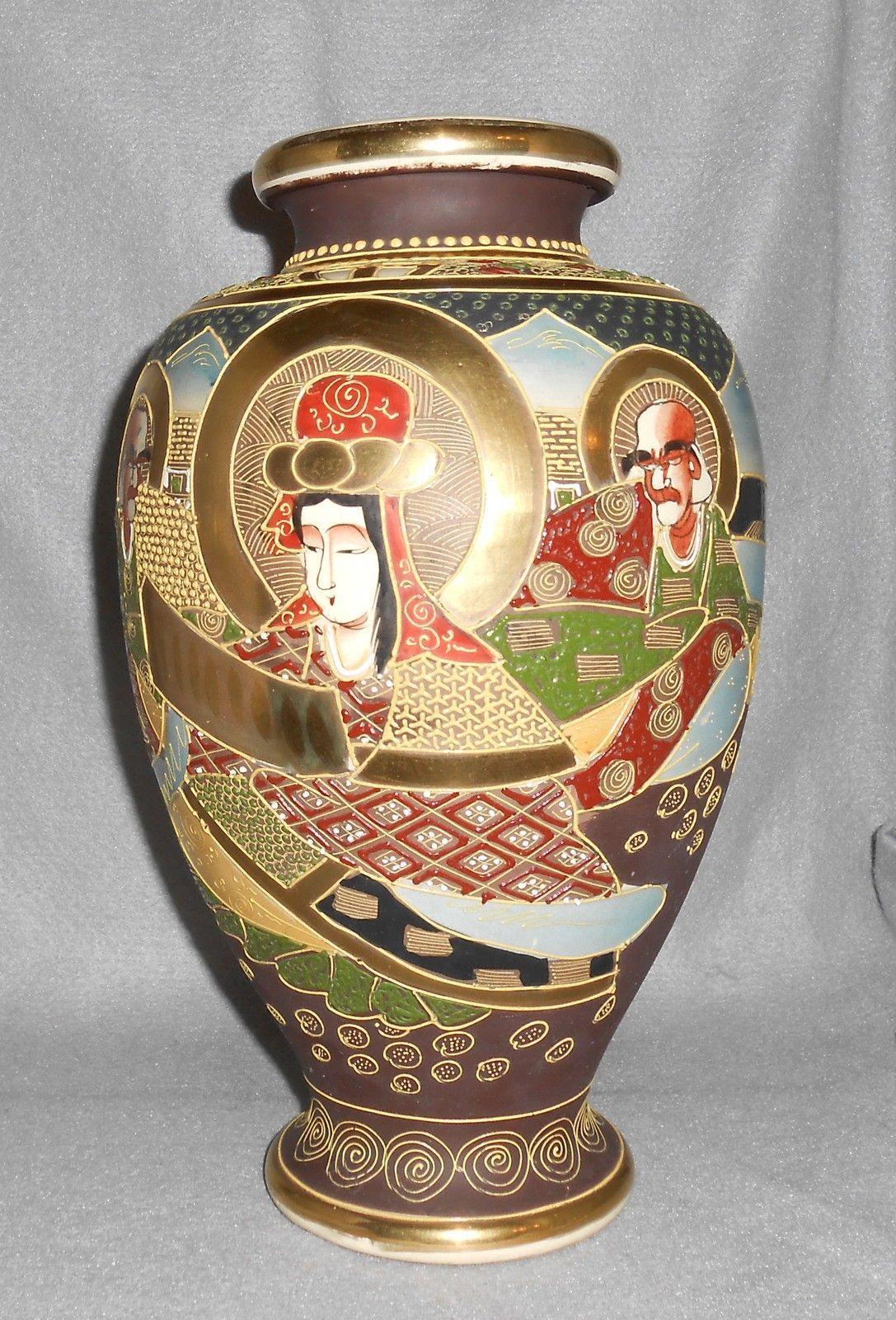 Antique satsuma porcelain vase mt fuji warriors samurai ie antique satsuma porcelain vase mt fuji warriors samurai iepicclick reviewsmspy