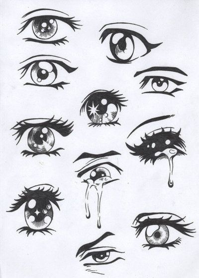 tumblr Cartoon eye drawing