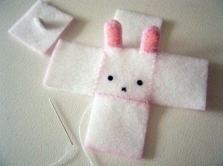 Cubed Bunny Plush #bunnyplush How to make rabbit plushie. Cubed Bunny Plush  - Step 10 #bunnyplush