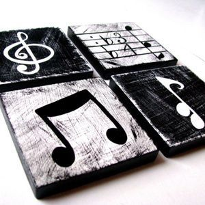 Music Themed Decor #musicdecor