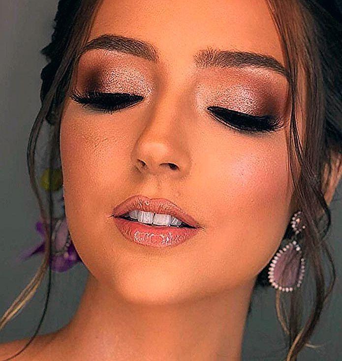 Photo of Inspiração de make Maravilhosa para as noivas, as madrinhas e formadas lindas….