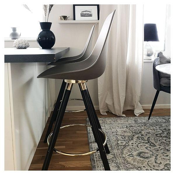 Photo of Moda Bar Chair mit Rückenlehne CD2 – Weiß 74cm
