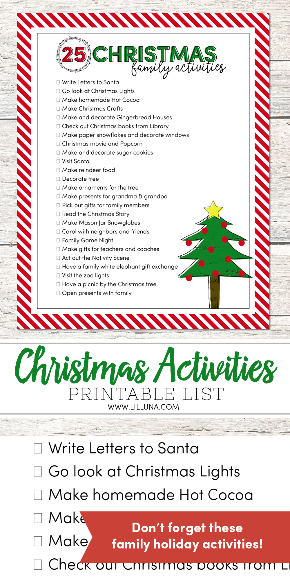 25 Christmas Family Activities Christmas activities for