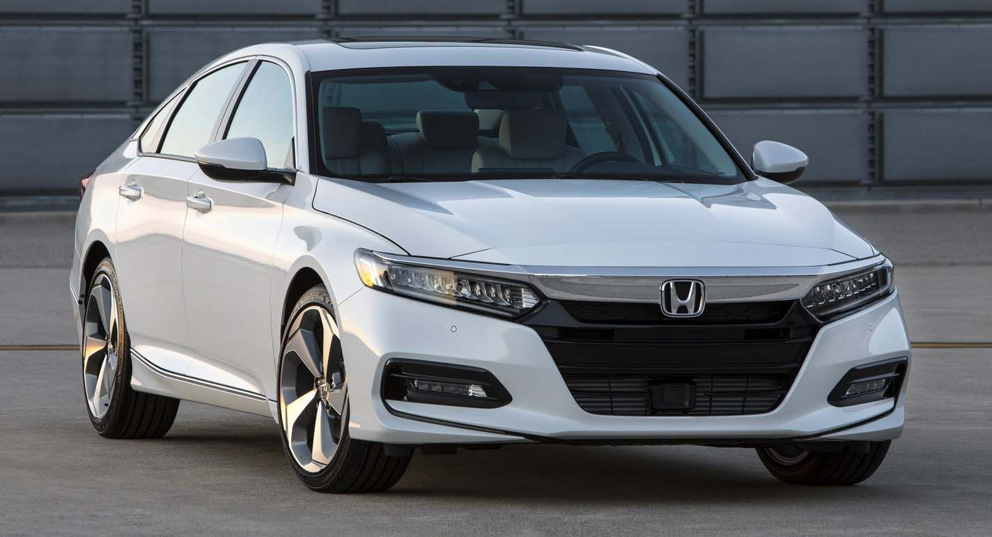 2018 Honda Accord Unveiled With Turbocharged FourCylinder