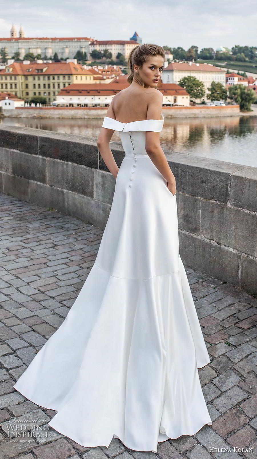 9c7363a628 Helena Kolan 2019 Wedding Dresses in 2019 | The Dress | Minimalist ...
