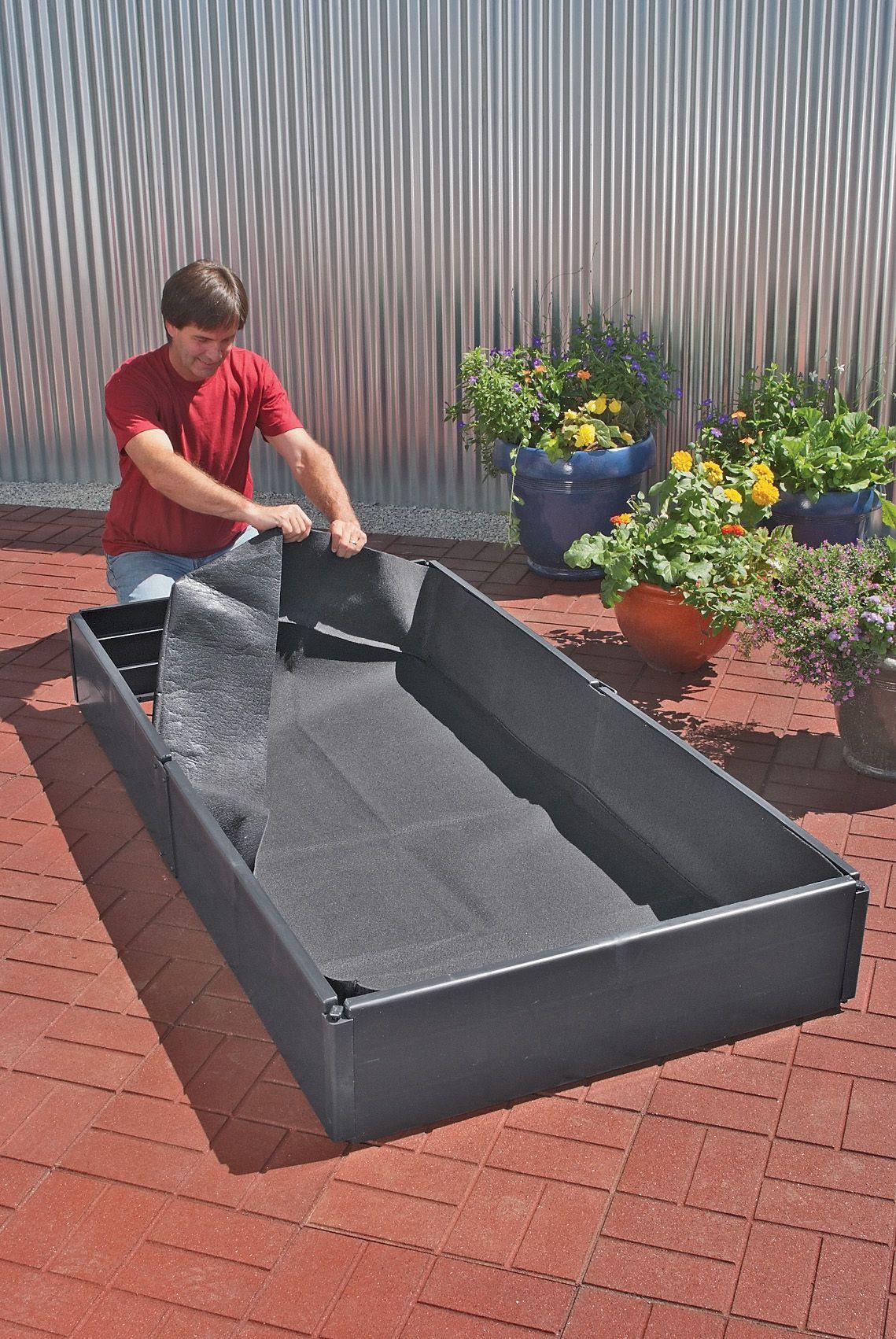 Mini Grow Bed Liners Polypropylene Gardener S Supply Garden