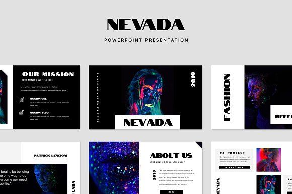 nevada bold style powerpoint by tmint on creativemarket