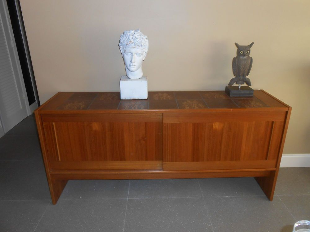 Danish Buffet Credenza : English credenza buffet cool stuff houston mid century modern