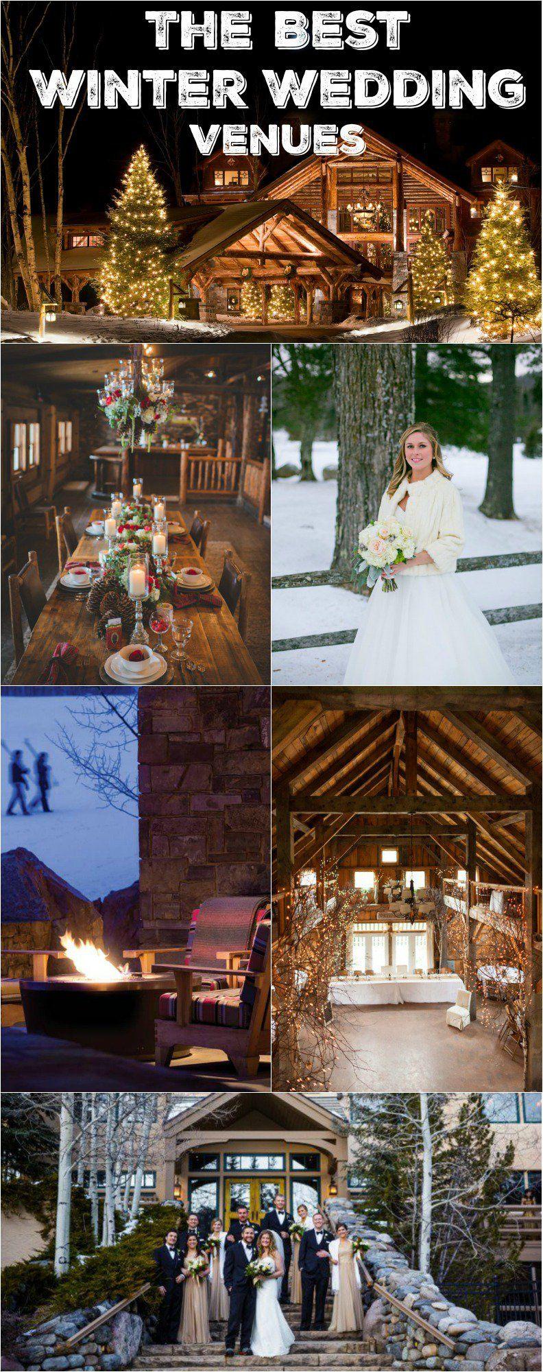 10 MustSee Winter Wedding Venues Colorado wedding