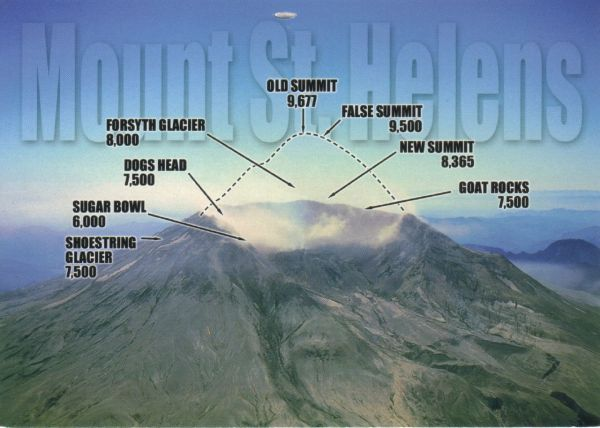 What was the most destructive volcanic eruption in the history of the United States?