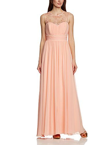 APART Fashion Damen Cocktail Kleid 28242, Maxi, Einfarbig, Gr. 40 ...