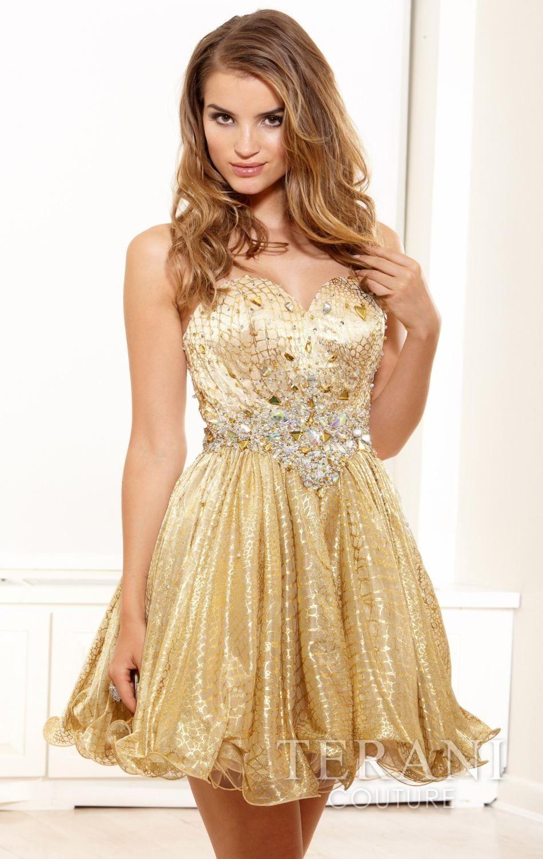 Terani p by terani couture prom fabilous gowns pinterest