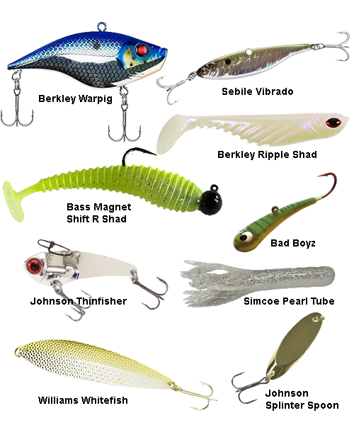 My favorite Lake Trout Baits   fishing tips   Trout fishing