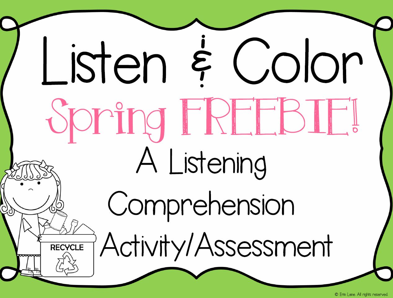 Try Out Listen And Color In Your Classroom For Free