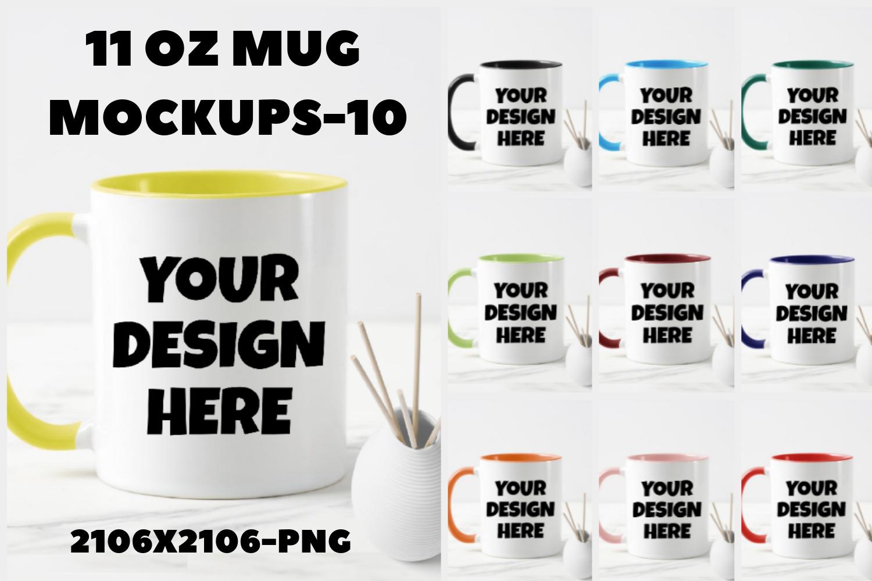 Download Mug Mockup Bundle 11oz Png 2106x2106px Graphic By Mockup Venue Creative Fabrica