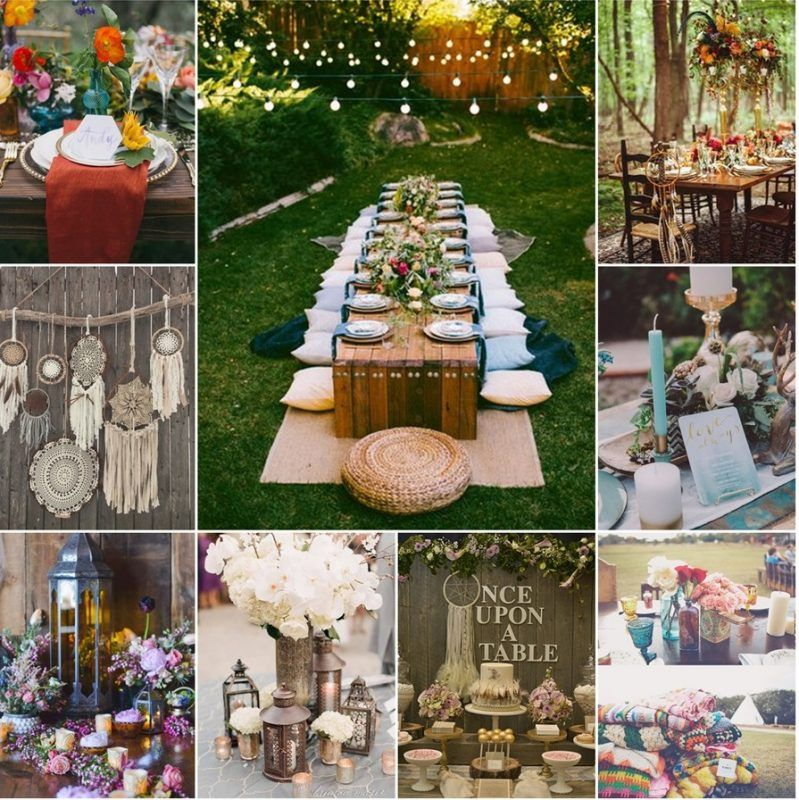 Matrimonio Tema Boho Chic : Idee per nozze bohemien matrimonio boho chic boho themed party
