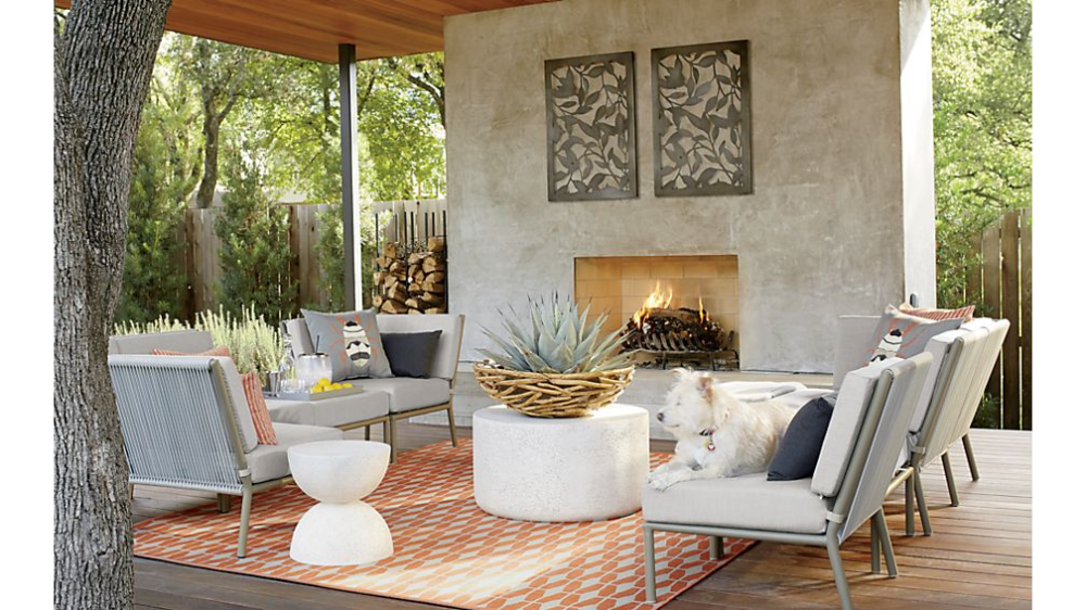 Millstone Coffee Table Reviews Crate And Barrel In 2021 Outdoor Living Rooms Used Outdoor Furniture Patio Inspiration