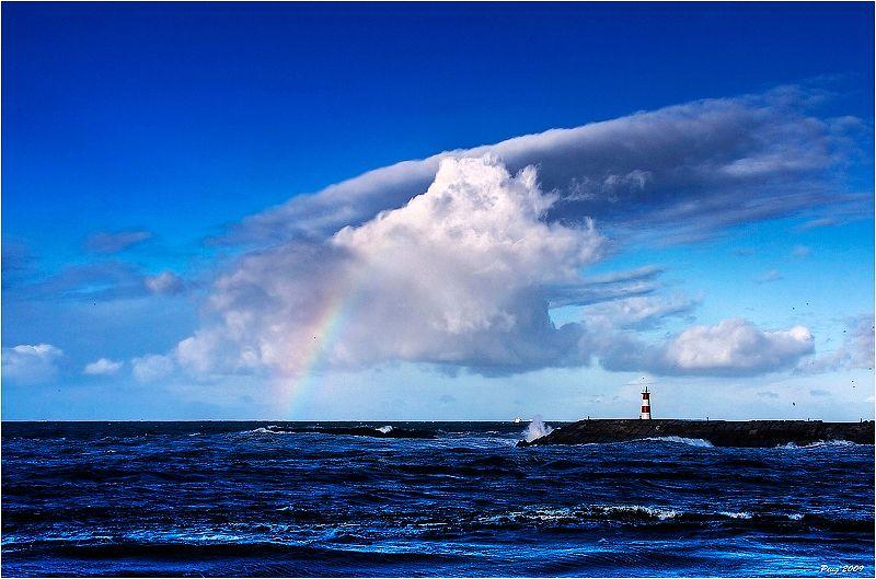 Raibow at the Sea by =Peug