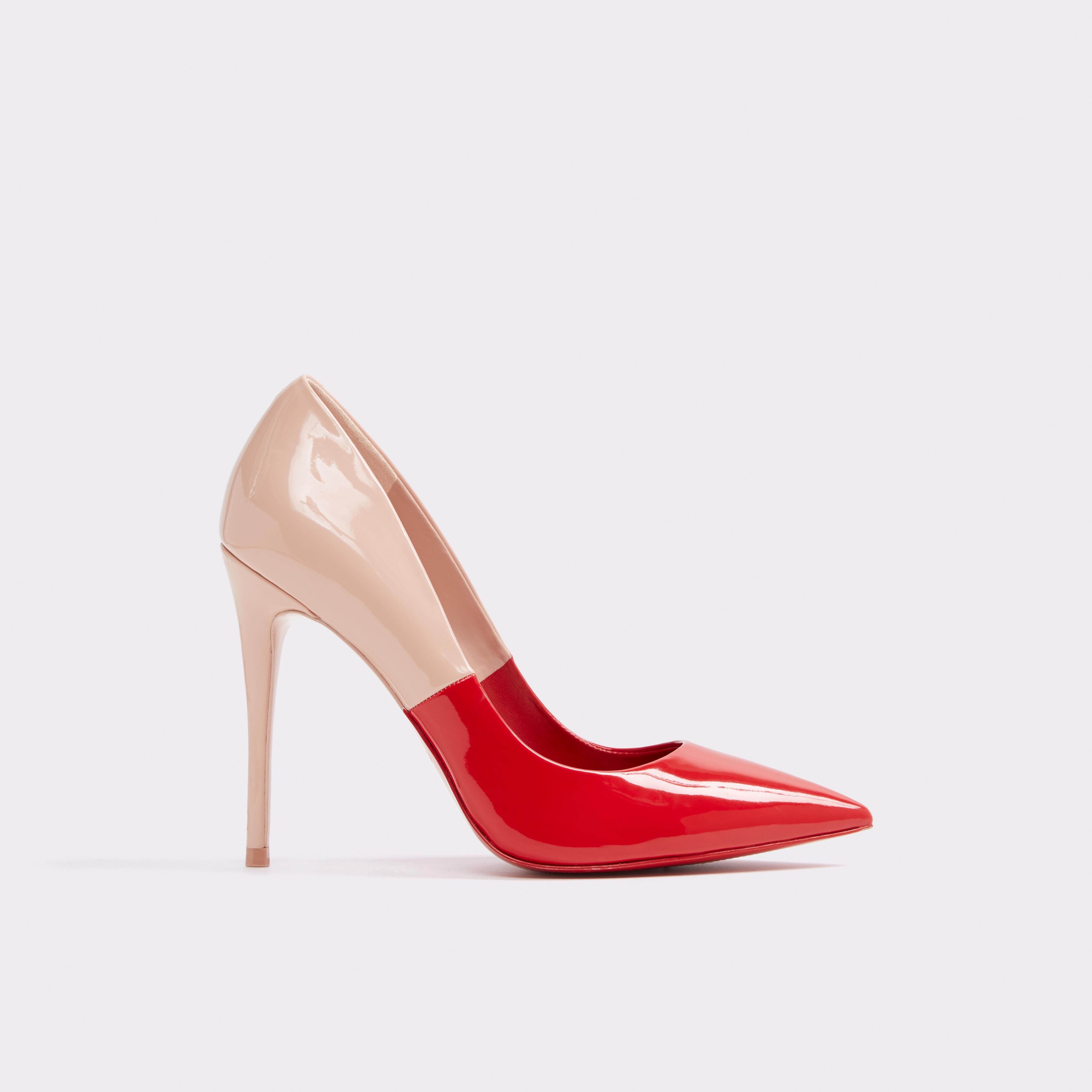 f02151aef5 Aldo Stessy - Red Nubuck 7.5   Products   Shoes, Heels, Aldo shoes