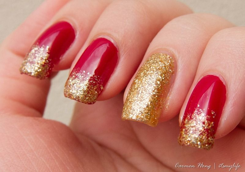 Top 14 Happy Chinese New Year Nail Designs – New Famous Fashion Manicure Trend - DIY Craft (14)