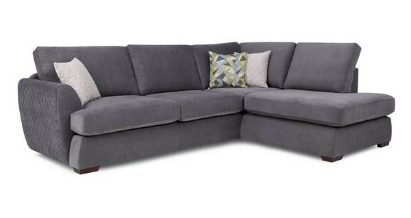 Karisma Left Arm Facing Open End Corner Sofa Sherbet Dfs