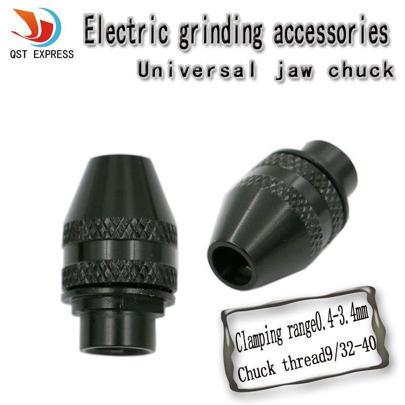 9 32 40 Mini Drill Chucks Keyless Drill Chuck For Dremel Rotary Tools Accessories 0 4 3 4mm Small Drill Chuck For Flexib Dremel Rotary Tool Drill Chucks Dremel