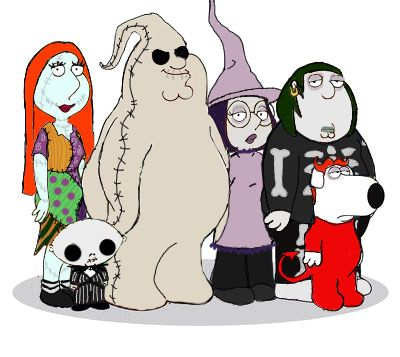 Peter as Oogie Boogie ha ha ha! Although Lois as Sally and Stewie as ...