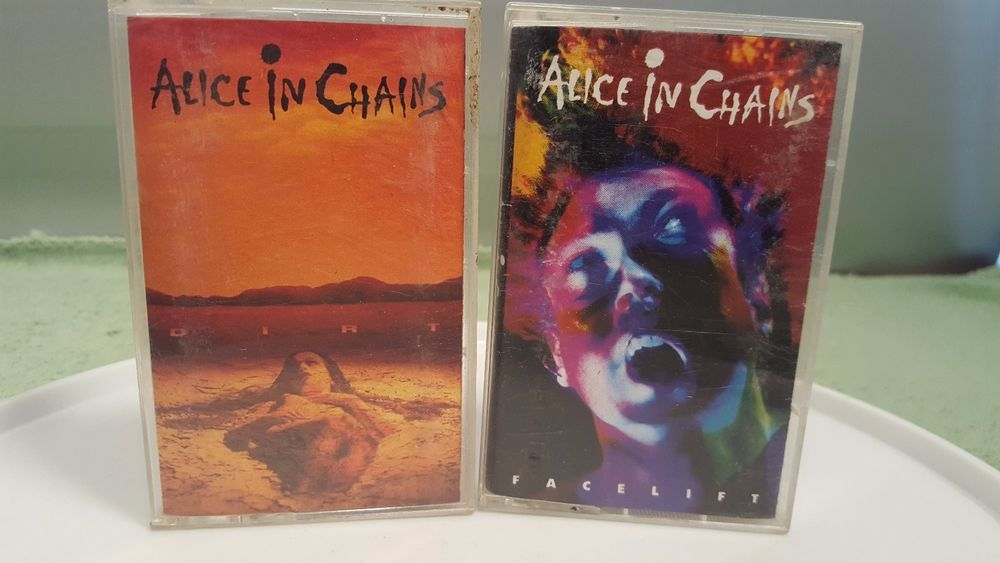 Alice In Chains Dirt Facelift Lot Of 2 Cassette Tapes With Images