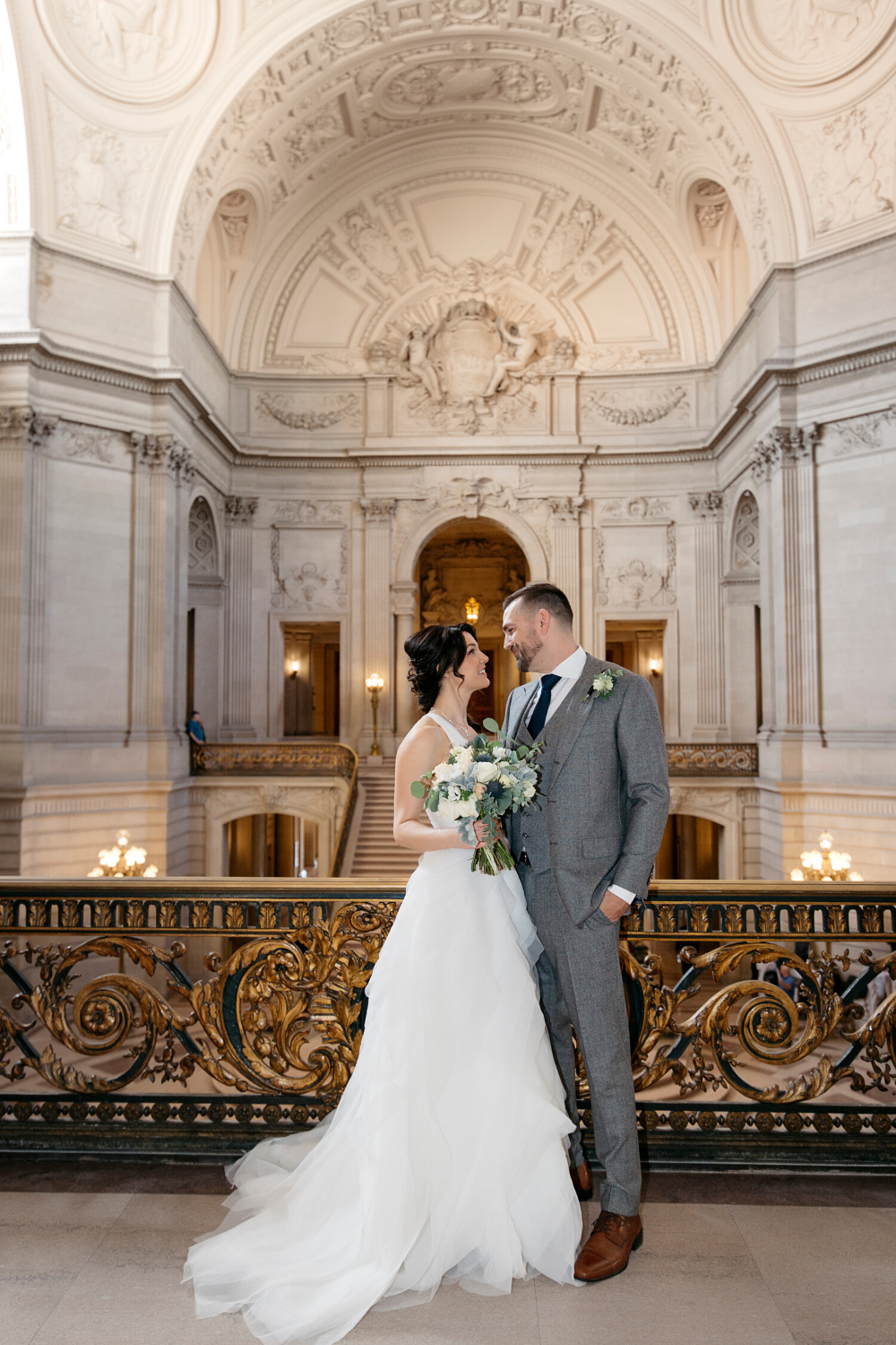 Sf City Hall Intimate Wedding Inspiration In 2020 San Francisco City Hall Wedding Wedding San Francisco San Francisco Wedding Photographer
