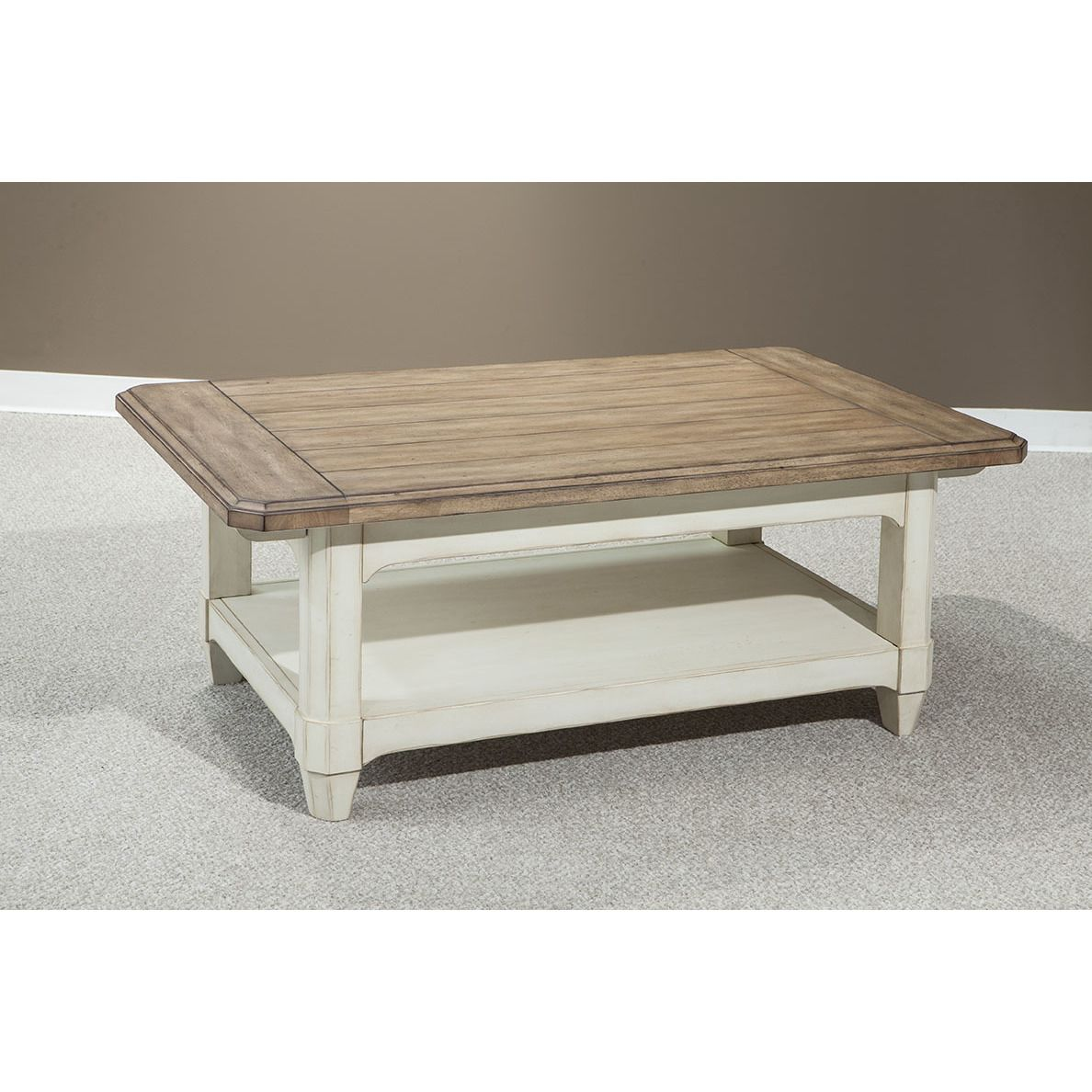Somette Panama Jack Millbrook 50-inch Rectangular Cocktail Table