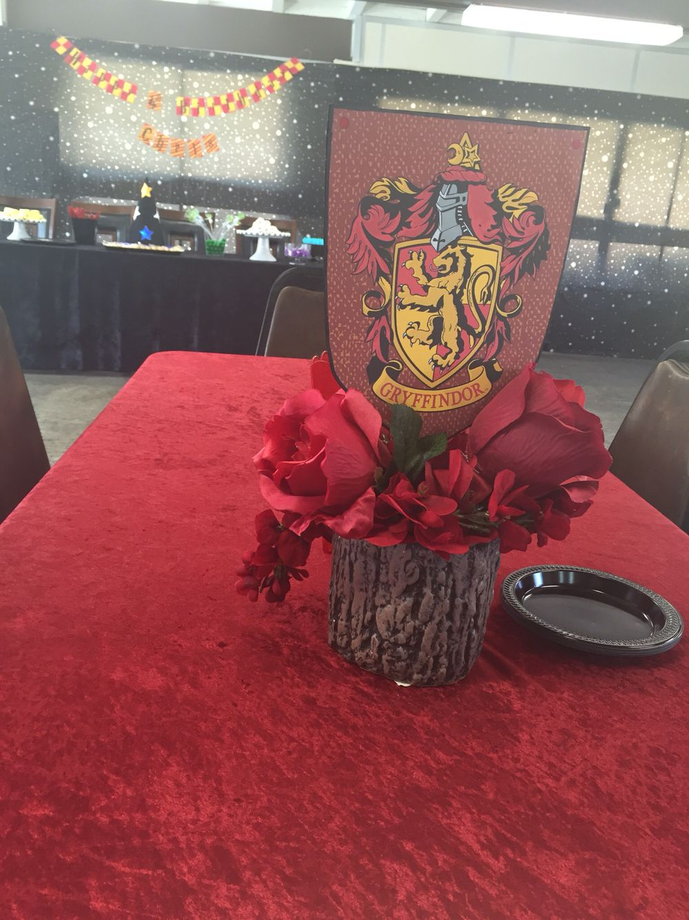 Harry potter centerpiece omg by me pinterest