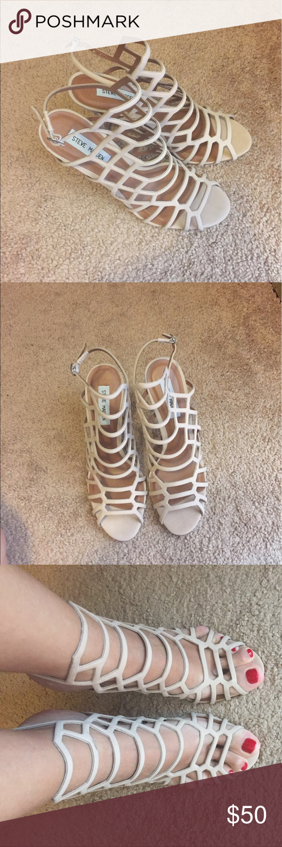 Steve Madden Sandals 🆕 sexy sandals for shoe lovers! Steve Madden Shoes Sandals